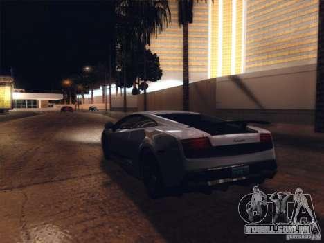 ENBSeries para GTA San Andreas por diante tela