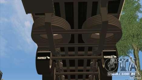 SchmitZ Cargobull para GTA San Andreas vista inferior