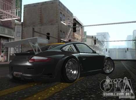 Porsche 911 GT3 RSR RWB para GTA San Andreas esquerda vista