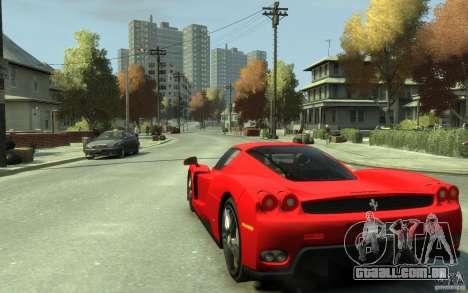 Ferrari Enzo [EPM] v1 para GTA 4 traseira esquerda vista