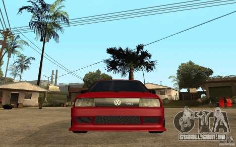 Volkswagen Golf 2 GTI Tuned para GTA San Andreas vista direita