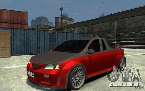 Dacia Pick-up Tuning para GTA 4