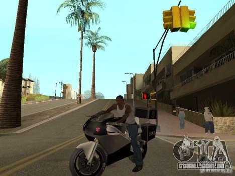 NRG-500 Police para GTA San Andreas vista direita