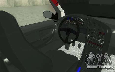 BMW Fan Drift Bolidas para GTA San Andreas vista superior