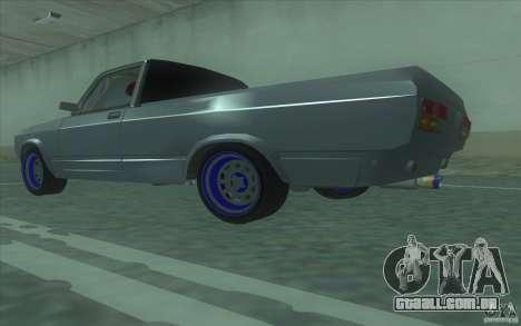 Lada 2107 Street Racing para GTA San Andreas esquerda vista