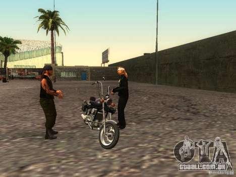 A escola realista motociclistas v 1.0 para GTA San Andreas oitavo tela
