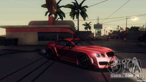 Bentley Continental GT Premier4509 2008 Final para GTA San Andreas vista inferior