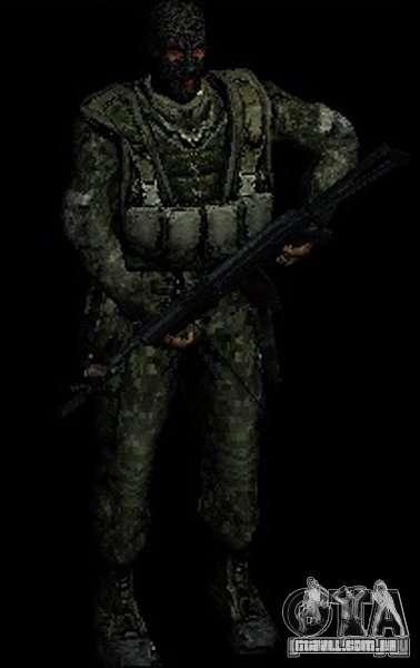 STALKER Shadow of Chernobyl SWAT OGSE para GTA San Andreas por diante tela
