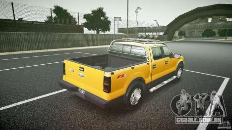 Ford F150 FX4 OffRoad v1.0 para GTA 4 vista lateral