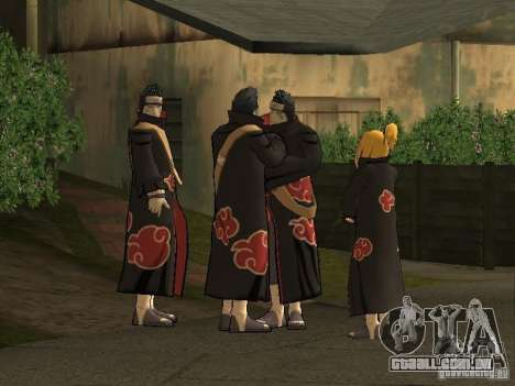 The Akatsuki gang para GTA San Andreas