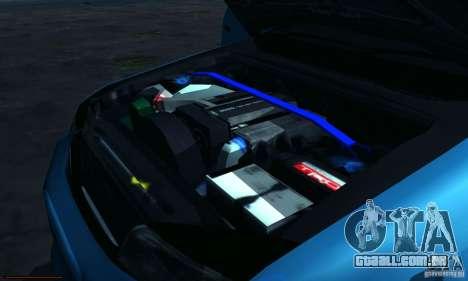 Toyota Mark II Tuning para GTA San Andreas vista interior