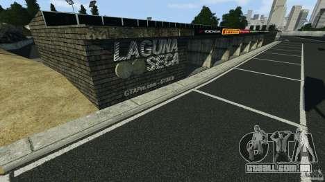 Laguna Seca [Final] [HD] para GTA 4 por diante tela