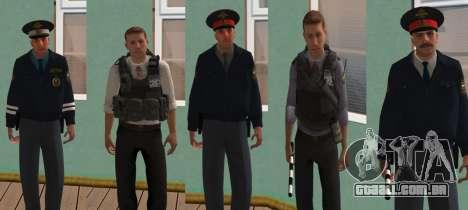 Pele Pack de assuntos internos russos para GTA San Andreas