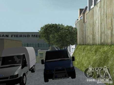 Ford Transit 2005 para GTA San Andreas vista interior