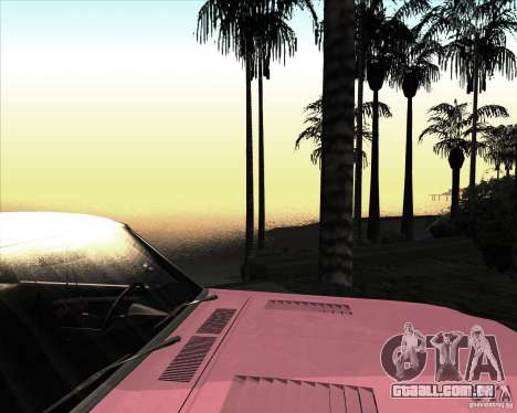 ENBSeries NORTH para GTA San Andreas por diante tela