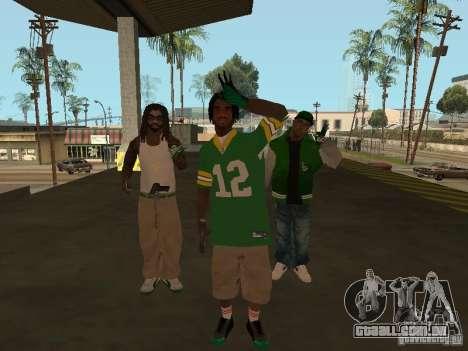 Novas skins Grove para GTA San Andreas segunda tela