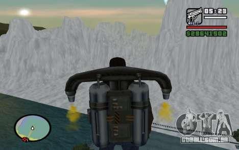 Mountain map para GTA San Andreas por diante tela