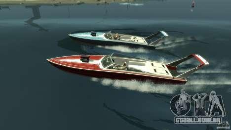 Tuned Jetmax para GTA 4 esquerda vista