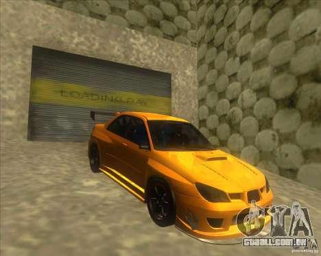 Subaru Impreza STi tuned para GTA San Andreas