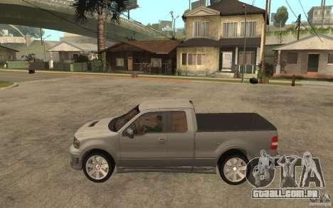 Saleen S331 Super Cab para GTA San Andreas esquerda vista