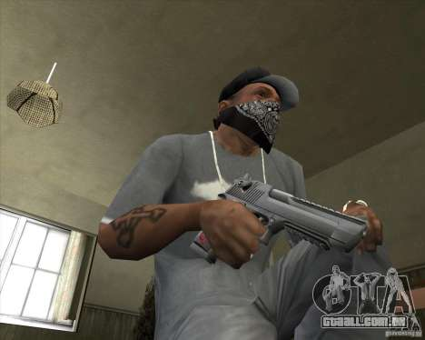 New Desert Eagle para GTA San Andreas terceira tela