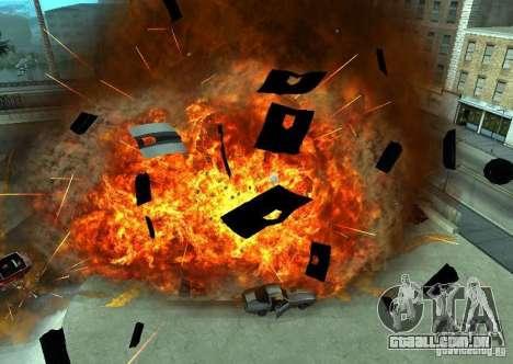 Novos efeitos de explosões para GTA San Andreas terceira tela