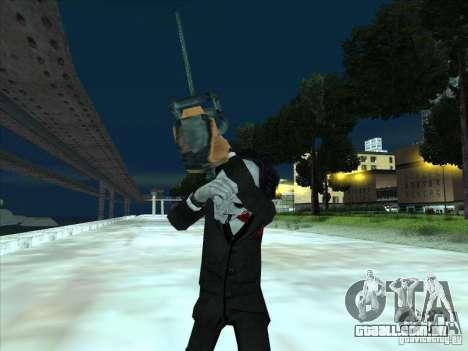 Saw para GTA San Andreas quinto tela