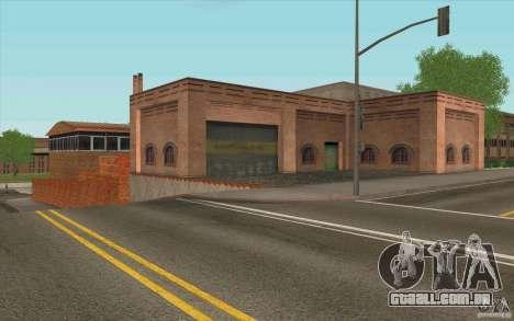 Corpo de bombeiros para GTA San Andreas por diante tela