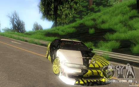 Nissan Silvia S14 zenki matt powers para GTA San Andreas vista traseira