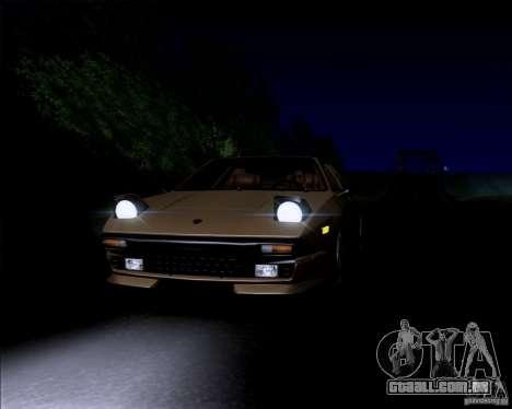 Lamborghini Jalpa 3.5 1986 para GTA San Andreas vista traseira