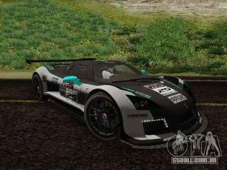 Gumpert Apollo S 2012 para GTA San Andreas vista interior