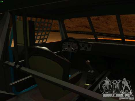 Jupiter Eagleray MK5 para vista lateral GTA San Andreas