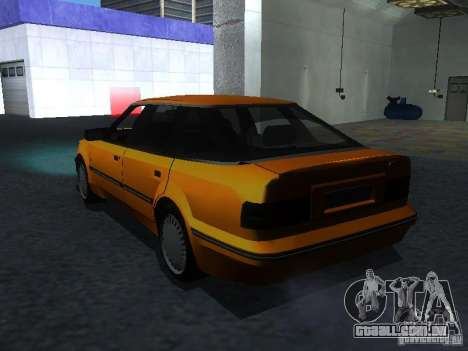 Ford Sierra Mk1 Sedan para GTA San Andreas esquerda vista