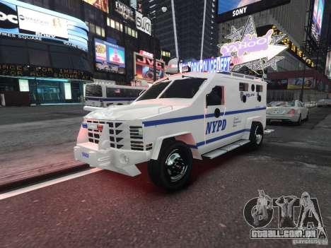 Lenco Bearcat NYPD ESU V.2 para GTA 4