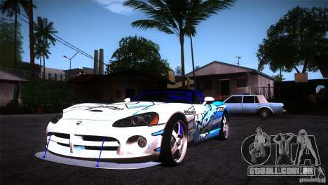Dodge Viper Mopar Drift para GTA San Andreas