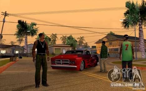 Salvar informações de AutoRecuperação para GTA San Andreas terceira tela