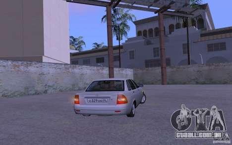 LADA Priora 2170 Pnevmo para GTA San Andreas vista direita
