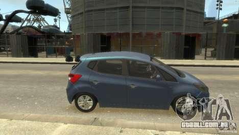 Hyundai IX20 2011 para GTA 4 vista direita