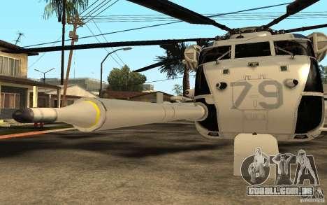 CH 53E para GTA San Andreas vista interior