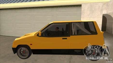 Suzuki Alto Euro para GTA San Andreas esquerda vista