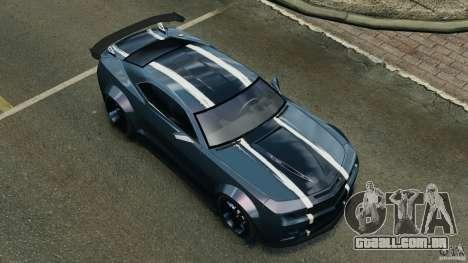 Chevrolet Camaro SS EmreAKIN Edition para GTA 4 motor