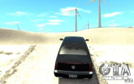 Cadillac DTS v 2.0 para GTA 4 traseira esquerda vista