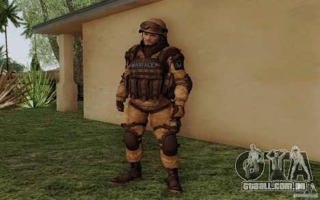 Šturomvik de Warface para GTA San Andreas