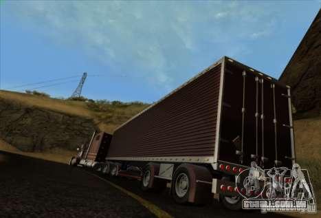 Trailer de Freightliner clássico XL Custom para GTA San Andreas