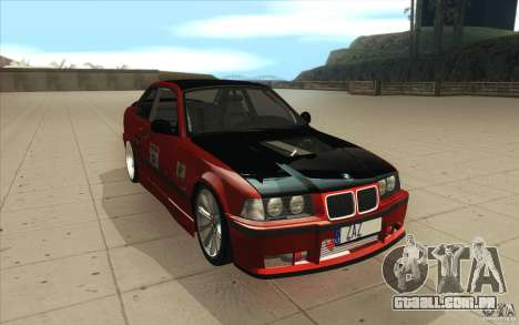 BMW Fan Drift Bolidas para GTA San Andreas vista traseira