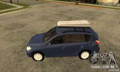 Toyota RAV4 V2 para GTA San Andreas esquerda vista