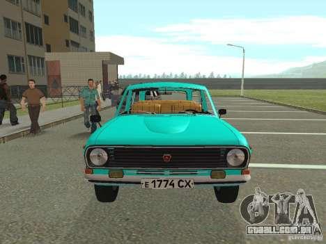 GAZ-24 Volga 12 para GTA San Andreas vista direita