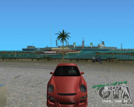 Porsche 911 GT3 para GTA Vice City vista direita