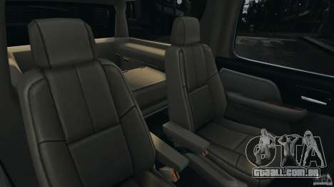 Chevrolet Suburban GMT900 2008 v1.0 para GTA 4 vista superior