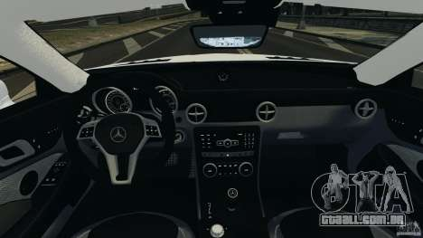 Mercedes-Benz SLK 2012 v1.0 [RIV] para GTA 4 vista de volta
